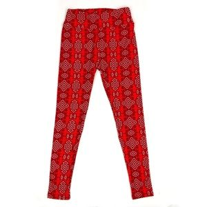 LuLaRoe Valentines Day Cupid Leggings One Size
